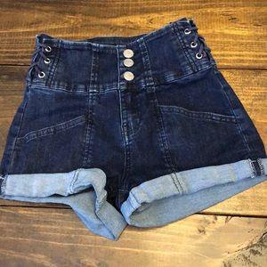 Almost Famous High Rise Shorts
